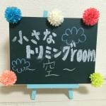 小さなトリミングルーム〜空〜