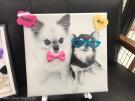 可愛い愛犬のお写真でつくるデコアニ☆看板犬ちょーさん&ちよちゃんで作りました♪