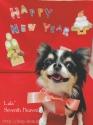 1月のカレンダー♪にっこりララちゃん(*^^*)