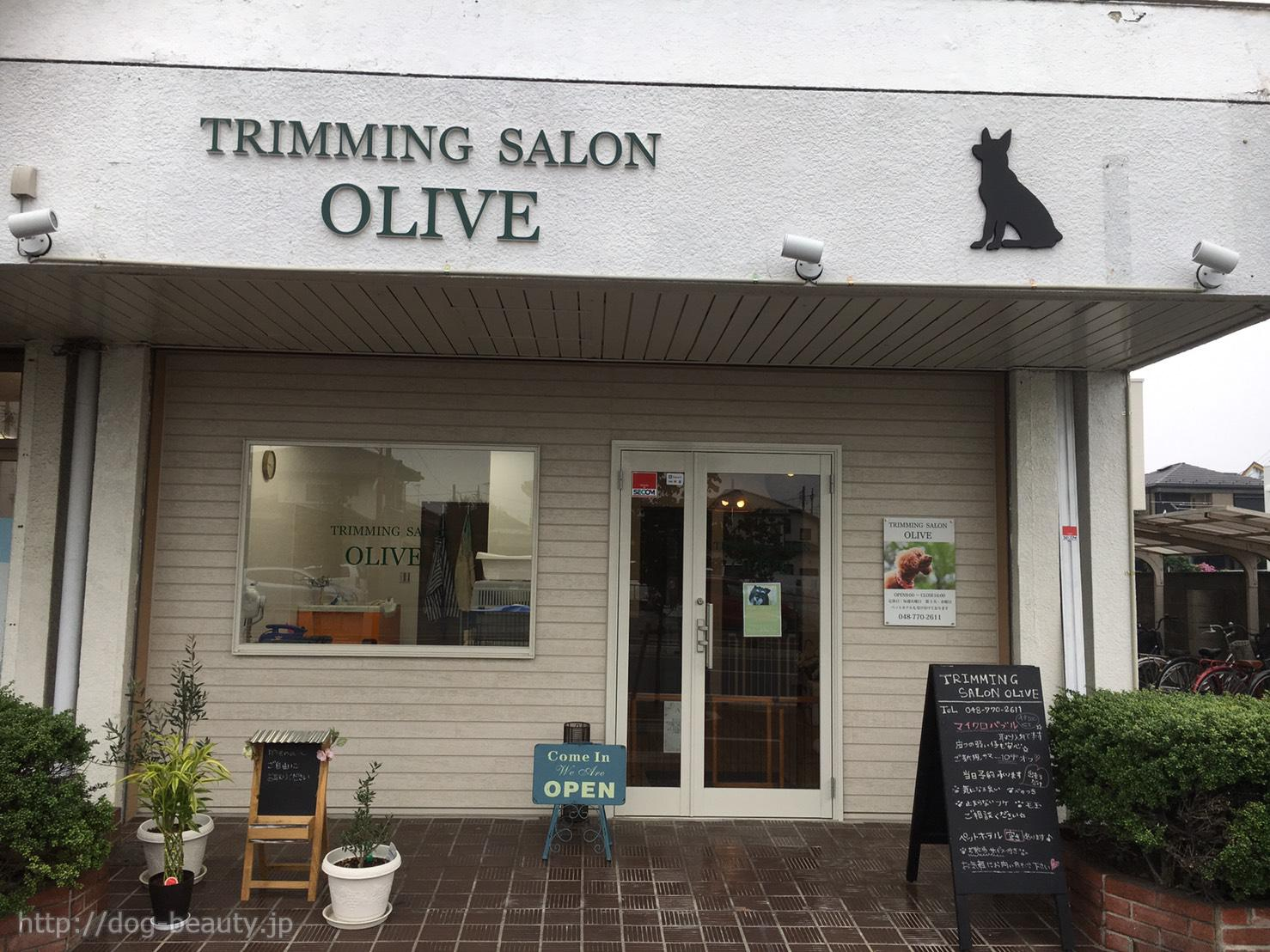 TRIMMING SALON OLIVE